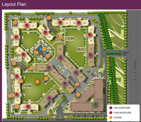 Images for Layout Plan of Suncity Jewel of India 1