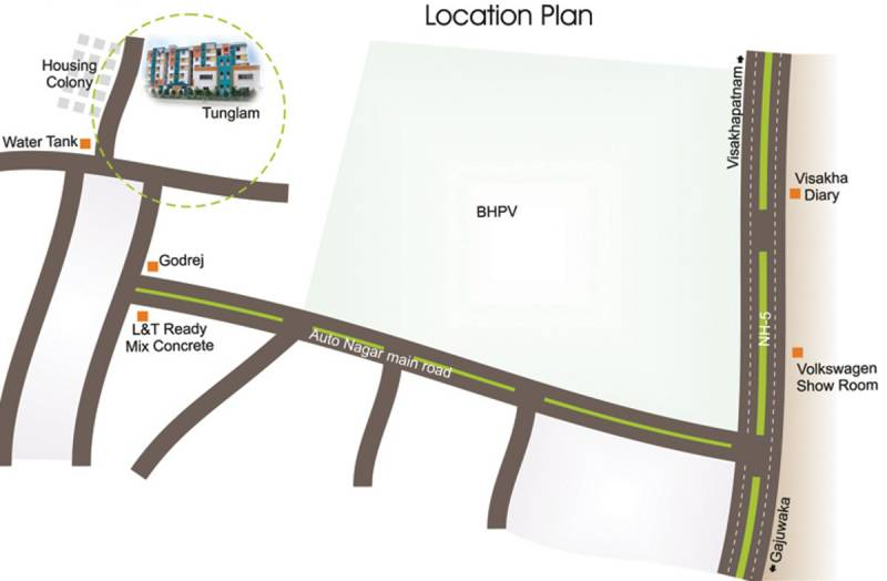 Images for Location Plan of Srinivasa Suvarna Srinivasam