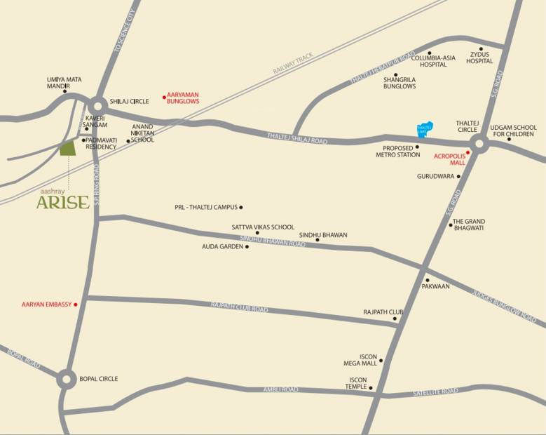 Images for Location Plan of Aashray Arise