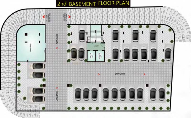 Images for Cluster Plan of Upasna 5th Avenue