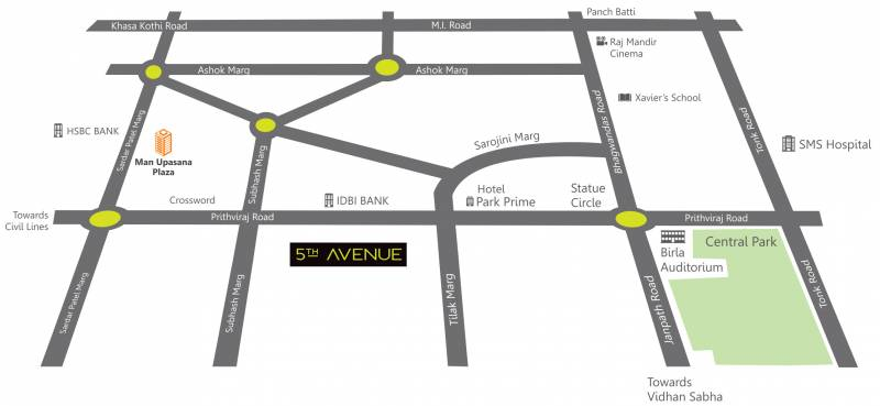Images for Location Plan of Upasna 5th Avenue