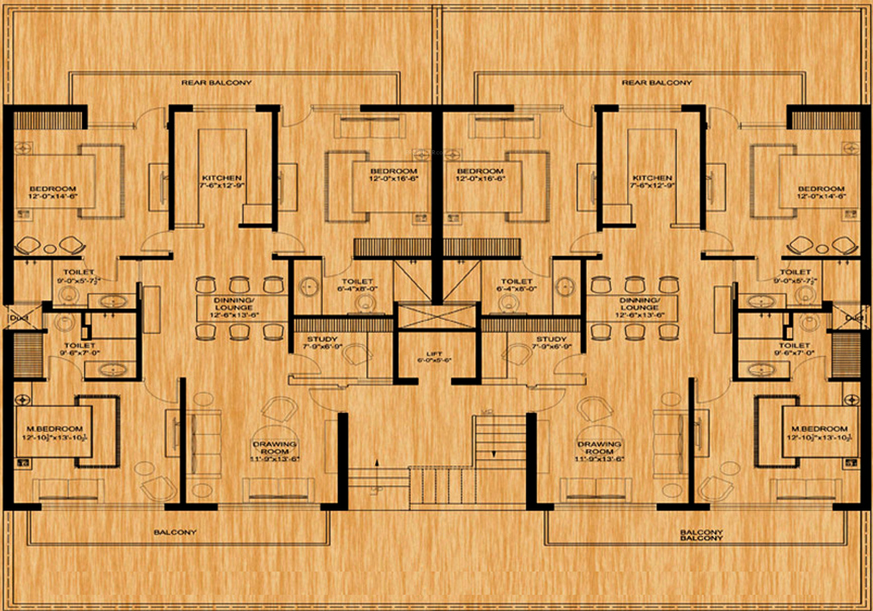 2000 sq ft 3 bhk 3t apartment for sale in golden oak for 2000 square foot modular home cost