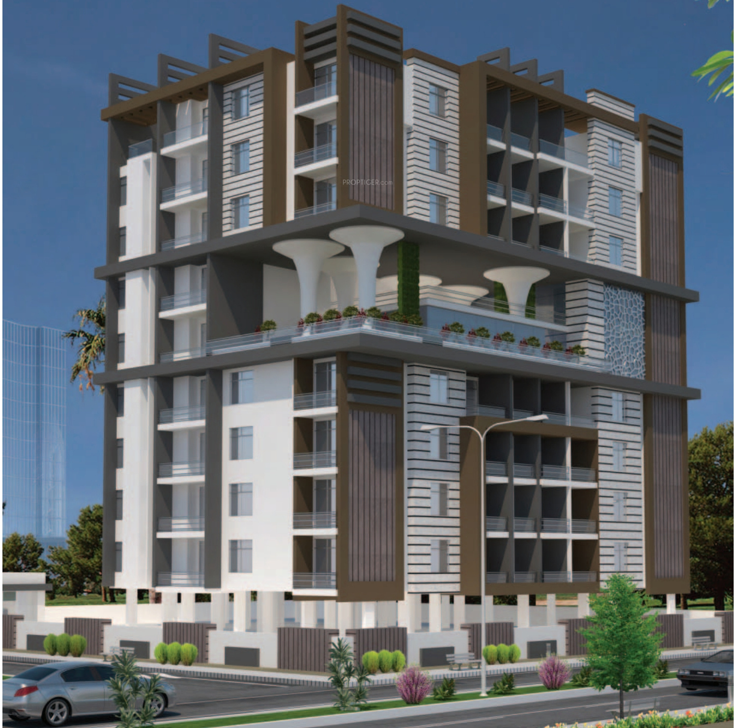 The Oasis Apartments: 1227 Sq Ft 2 BHK 2T Apartment For Sale In KGK