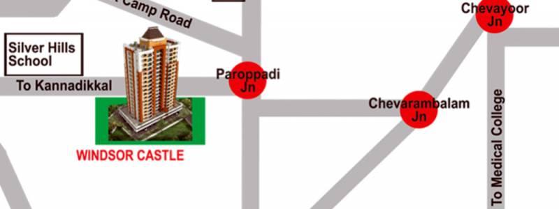 windsor-castle Images for Location Plan of Queens Windsor Castle