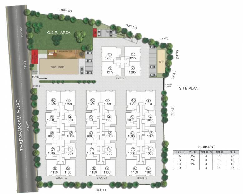 Images for Site Plan of Kochar Arjun Gardens