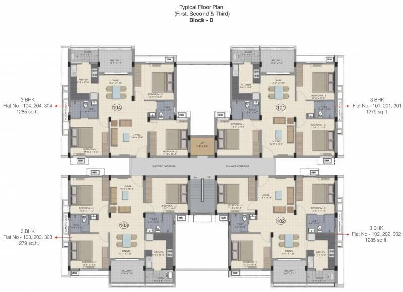 Images for Cluster Plan of Kochar Arjun Gardens