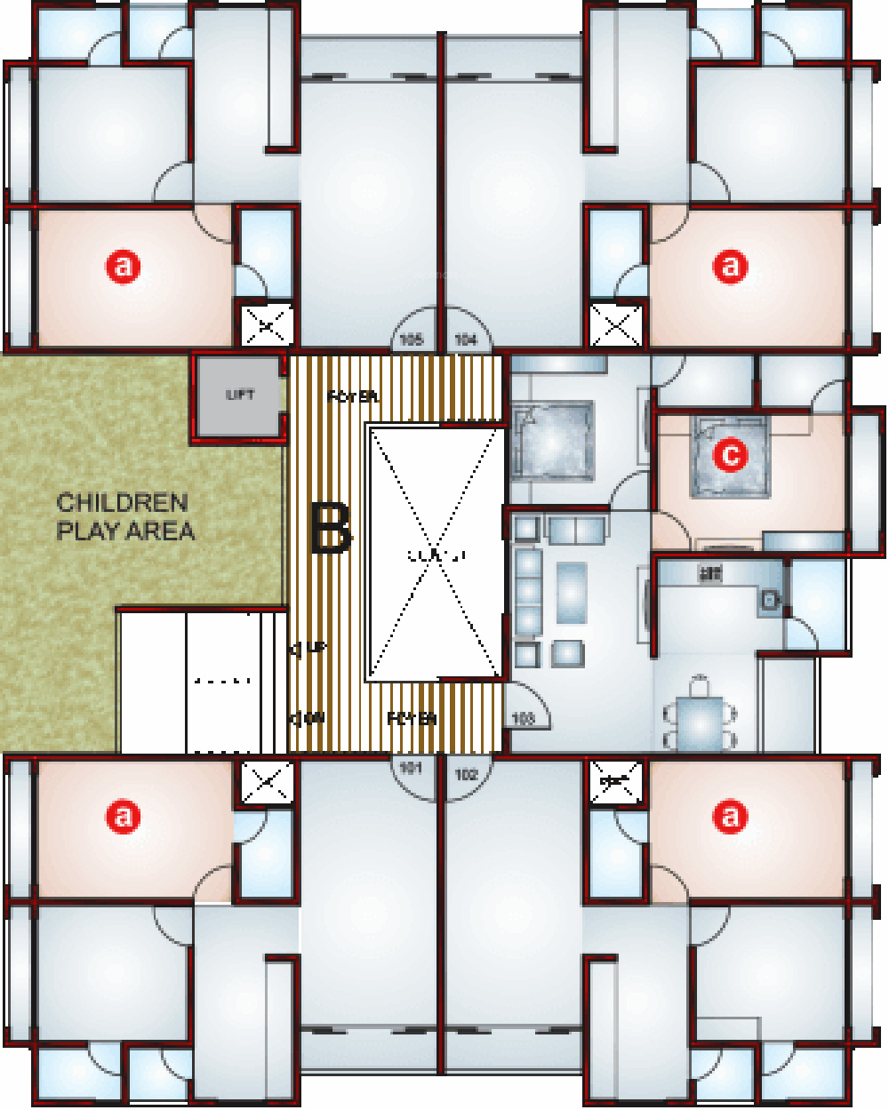 1125 sq ft 2 bhk 2t apartment for sale in avis western for 1125 sq ft floor plan