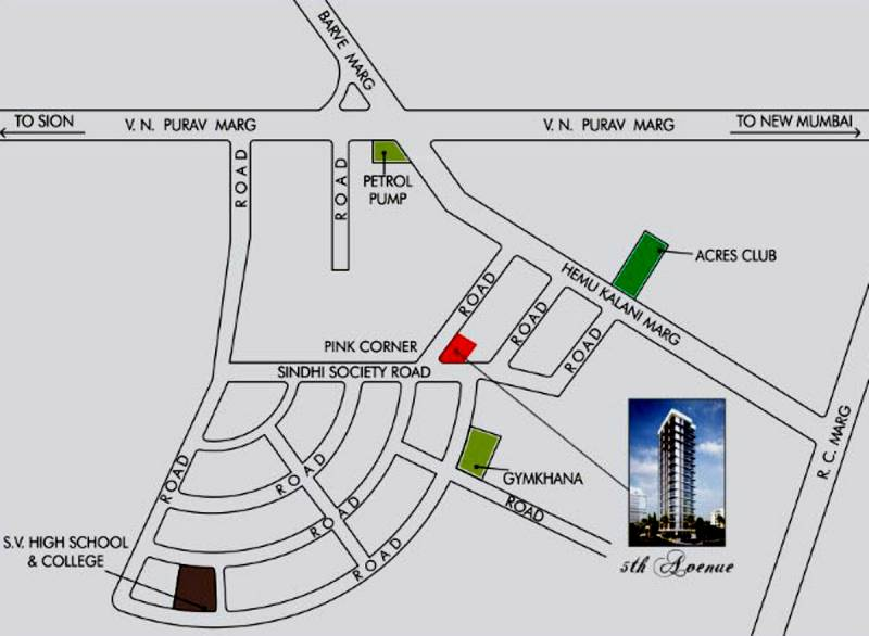 Images for Location Plan of Shree 5th Avenue