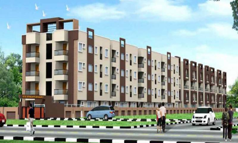Images for Elevation of BSR Koorla Residency