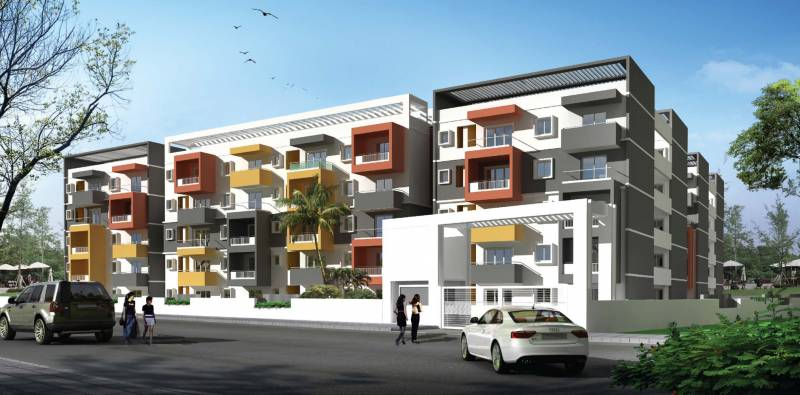Images for Elevation of Chowdeshwari Thirumala Lakshmi Grand