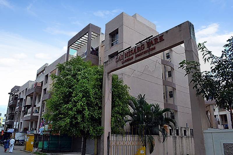 Images for Elevation of Wadhwani Constructions Mayureshwar Sai Nisarg Park Apartment
