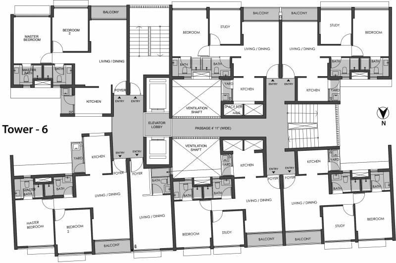 Images for Cluster Plan of TATA Rio De Goa