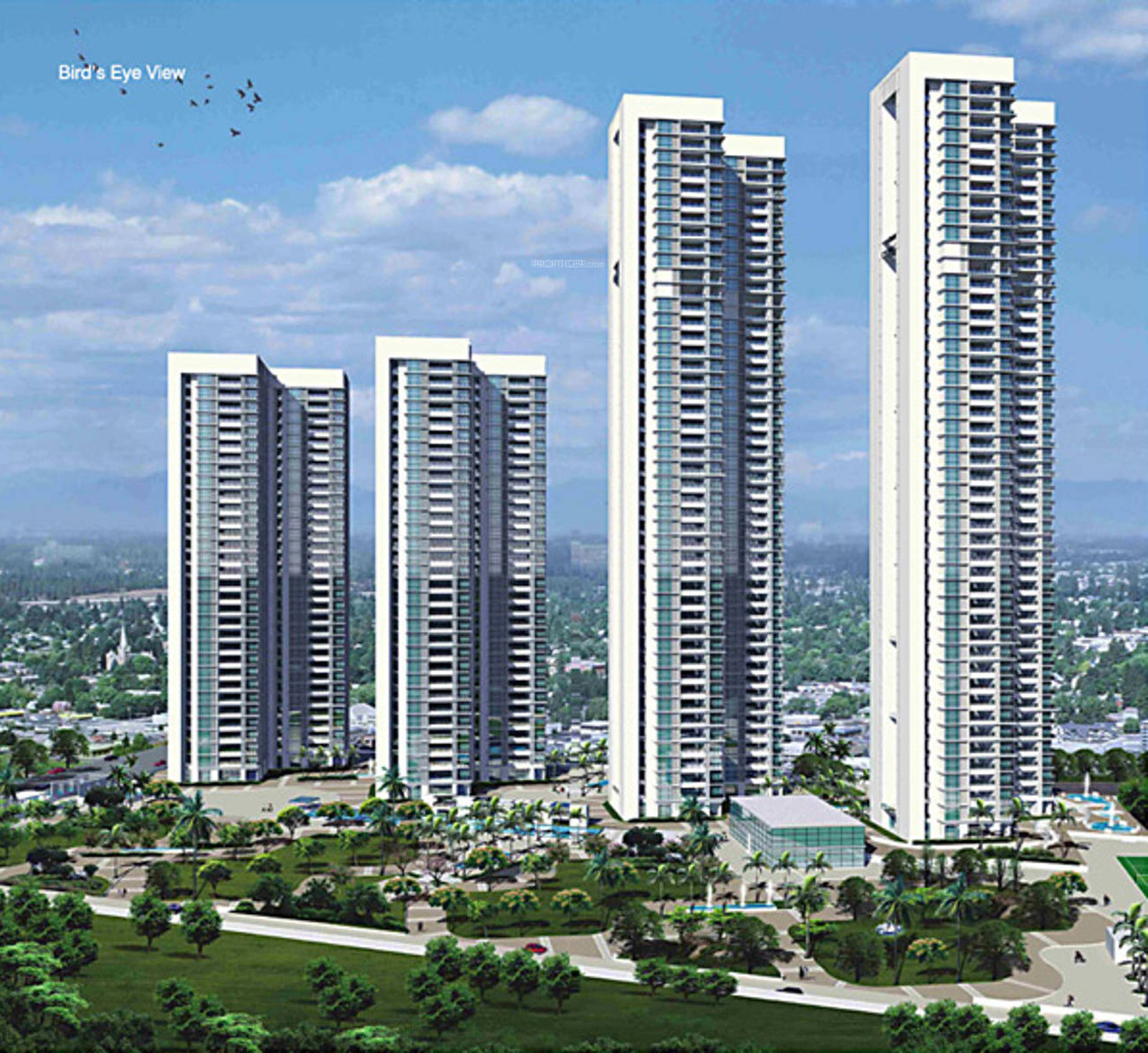 Lodha Bellezza P3floor Plans