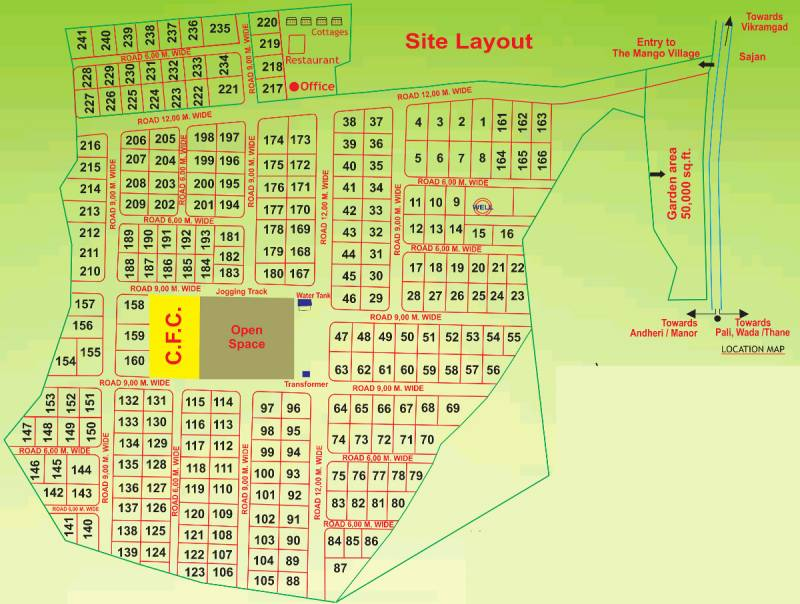 Images for Layout Plan of Nirvana Mango Village