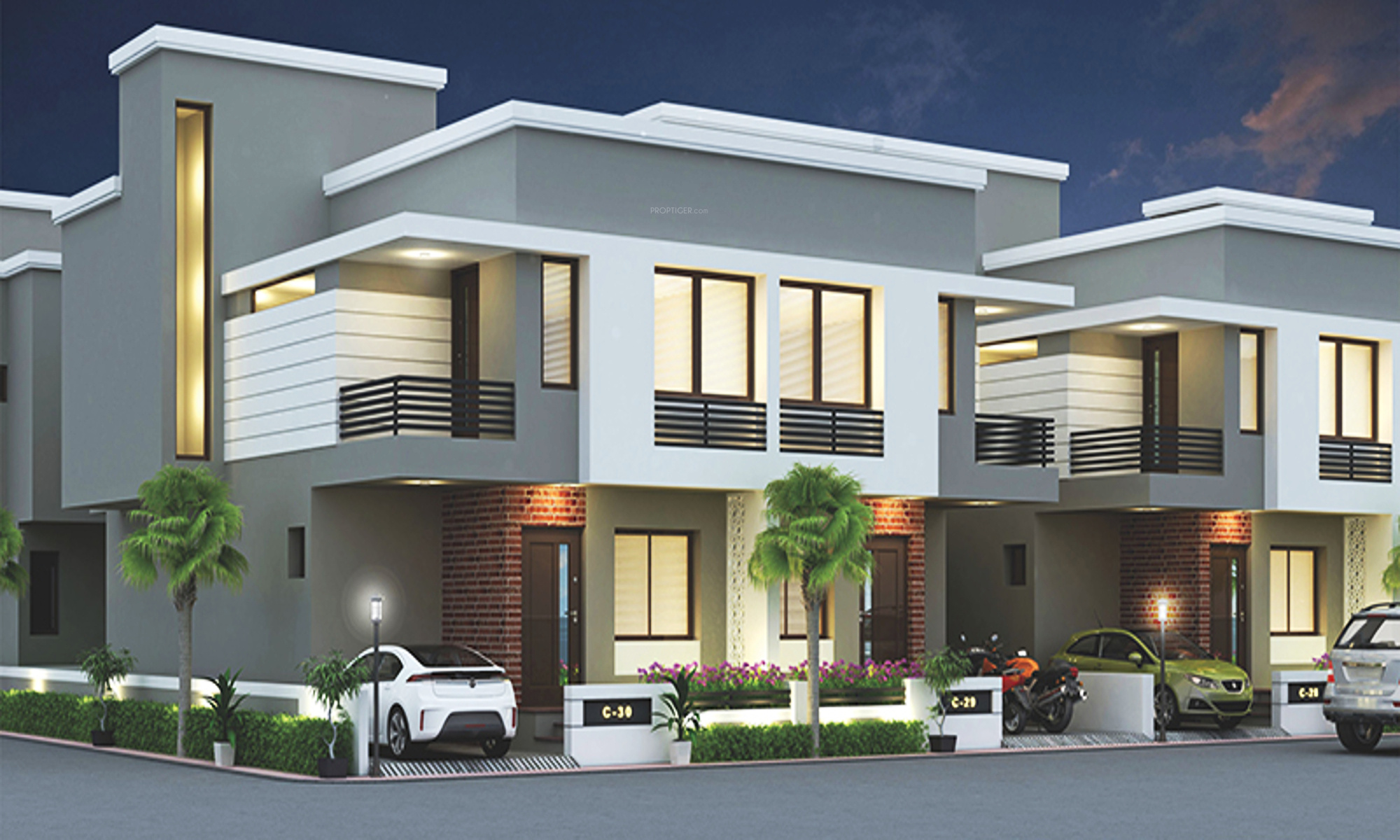 Labh Bungalows By Labh Group In Atladara Vadodara Price - Type house vadodara