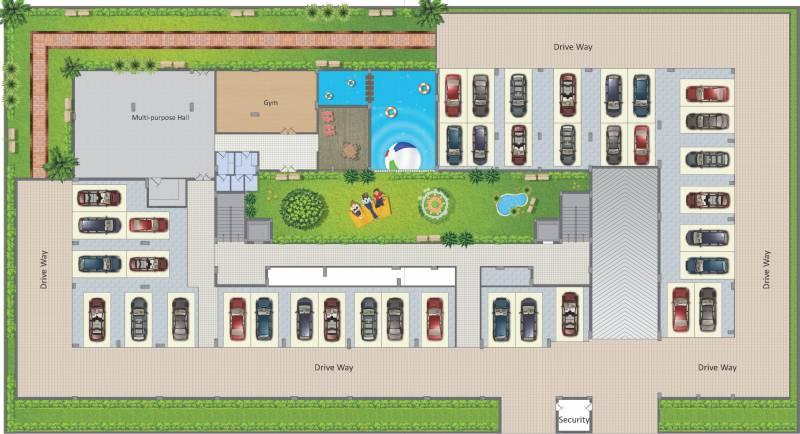 Images for Site Plan of Vamsiram Jyothi Botanica