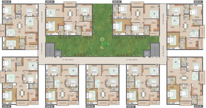 Images for Cluster Plan of Vamsiram Jyothi Botanica