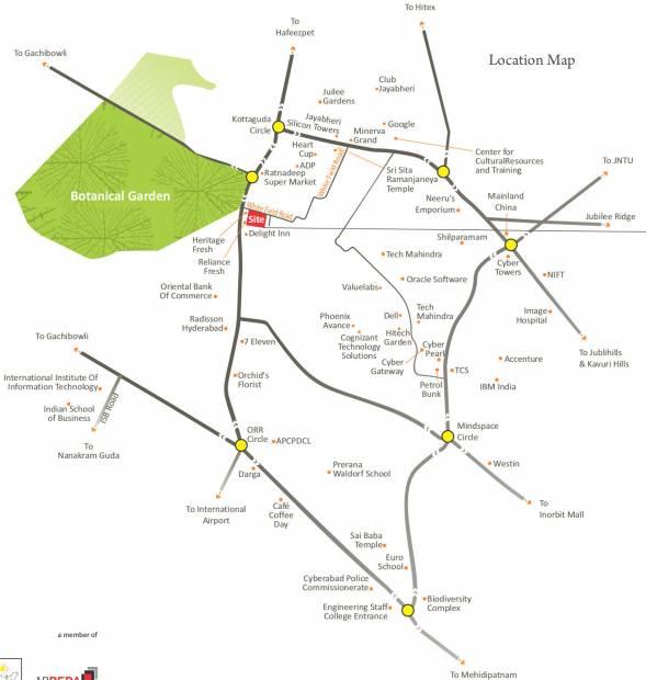 Images for Location Plan of Vamsiram Jyothi Botanica