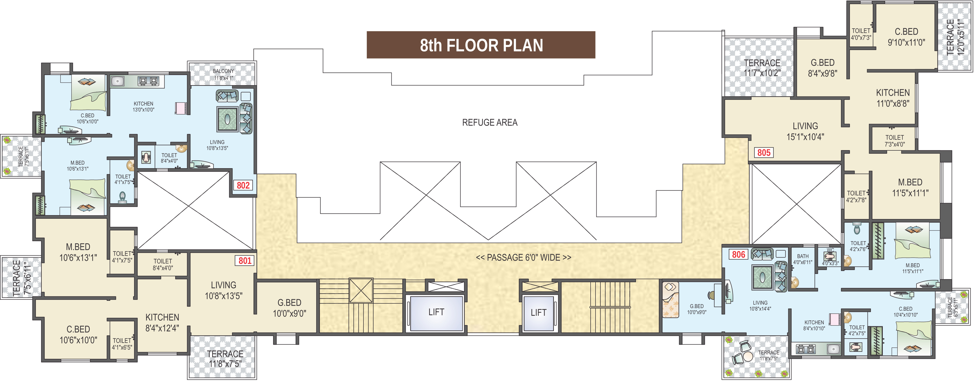 Gt mangal dhaara in tathawade pune price location map for Gt issa floor plans