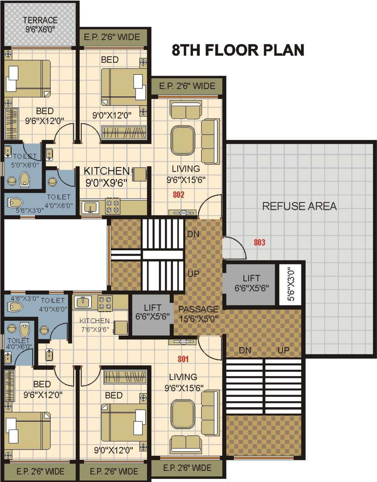 900 sq ft 2 bhk 2t apartment for sale in phoenix for 900 sq ft apartment floor plan