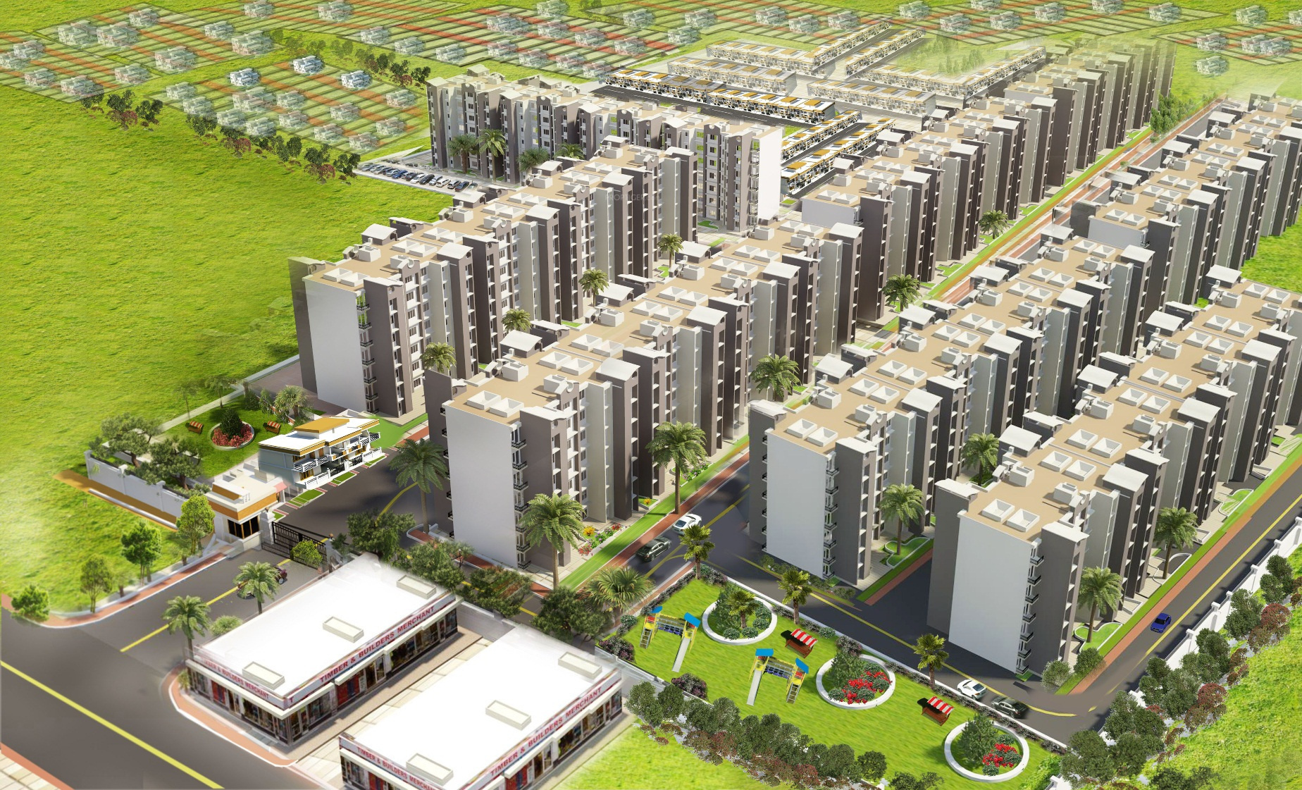 Aftek Housing in Uattardhona, Lucknow - Price, Location ...
