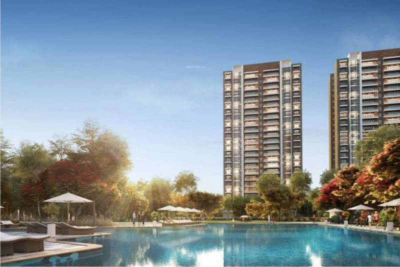Image Of Swimming Pool Of Sobha Limited City Sector 108 Gurgaon
