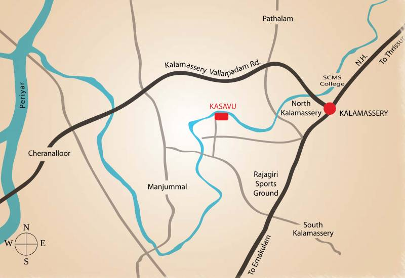 kasavu Images for Location Plan of Asset Kasavu