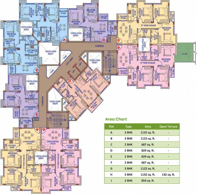 Images for Cluster Plan of Vinayak White Meadows
