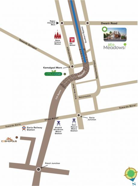 Images for Location Plan of Vinayak White Meadows