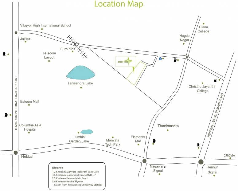Images for Location Plan of Samprasiddhi Green Edge