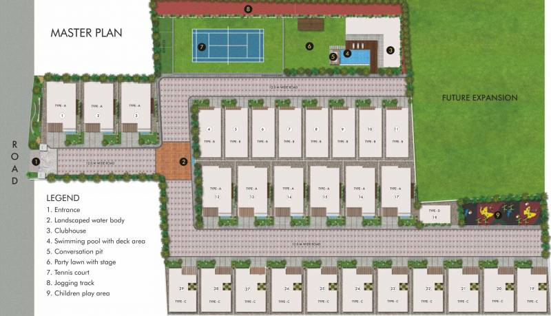 Images for Master Plan of SRK The Villagio