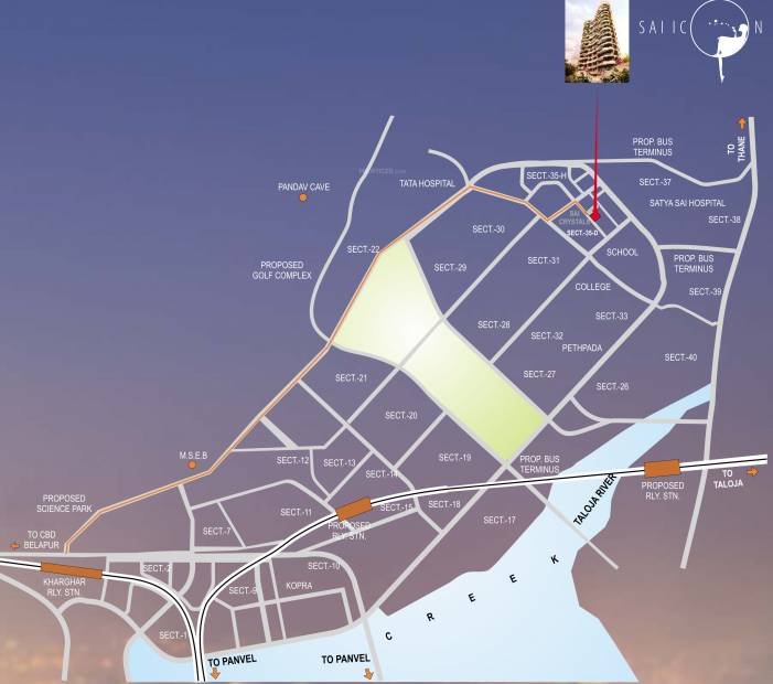Images for Location Plan of Paradise Sai Icon