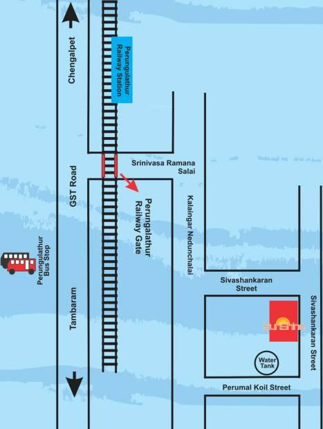 Image of Location Map of VGK Sunshine Perungalathur Chennai