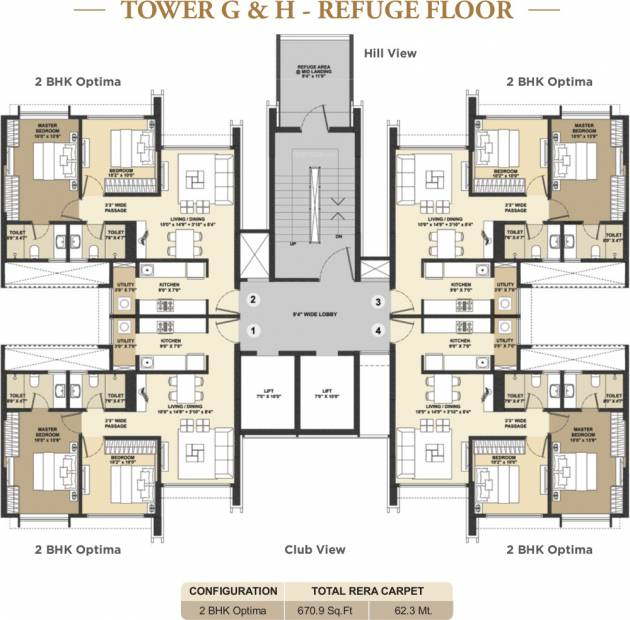 Images for Cluster Plan of Shapoorji Pallonji Vicinia