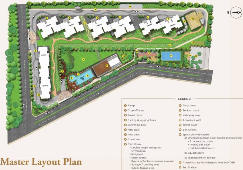 Images for Master Plan of Shapoorji Pallonji Vicinia