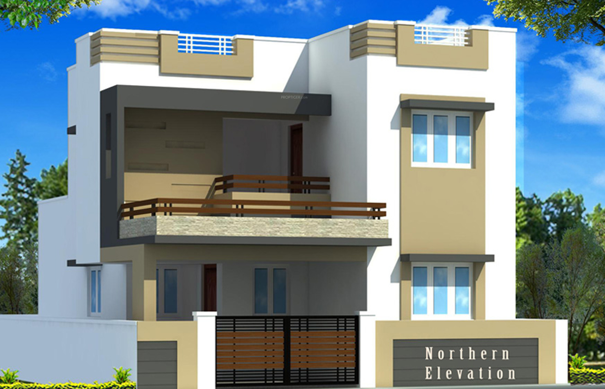 Front Elevation Of House In Coimbatore : Esr engineers and builders misty homes in kovai pudur