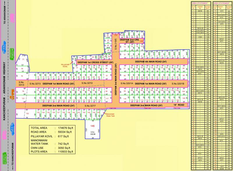 Images for Layout Plan of Deepam Highway Avenue