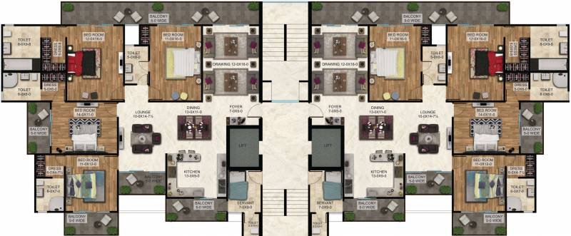 Images for Cluster Plan of The Antriksh The Golf Address