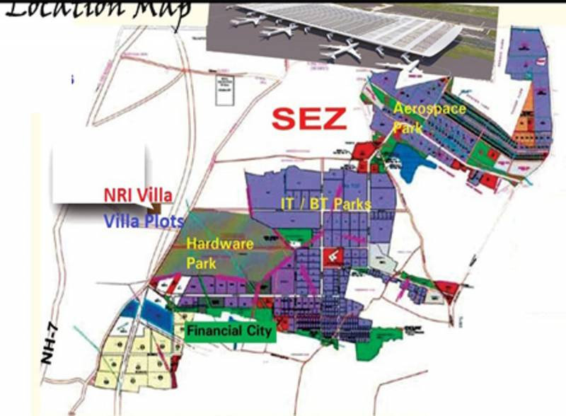 Images for Location Plan of Enrich NRI Villa