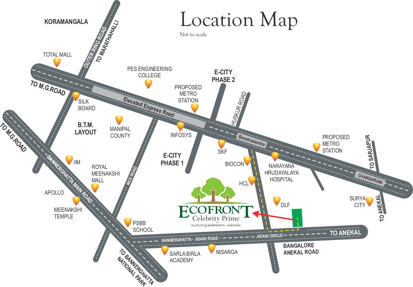 1468 sq ft plot for sale in celebrity prime eco front jigani bangalore. Black Bedroom Furniture Sets. Home Design Ideas