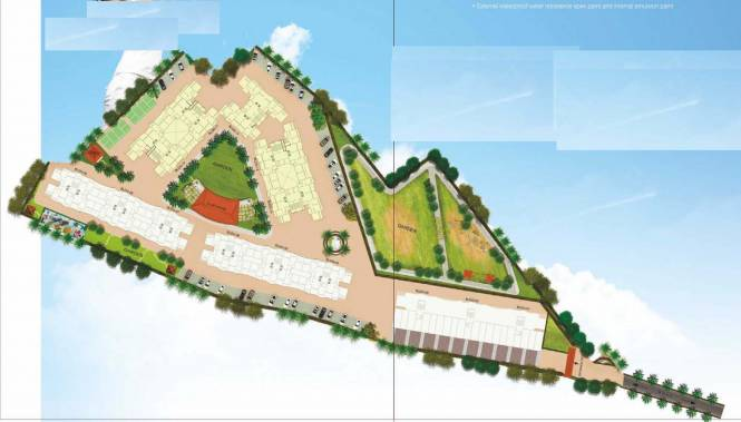 complex Layout Plan