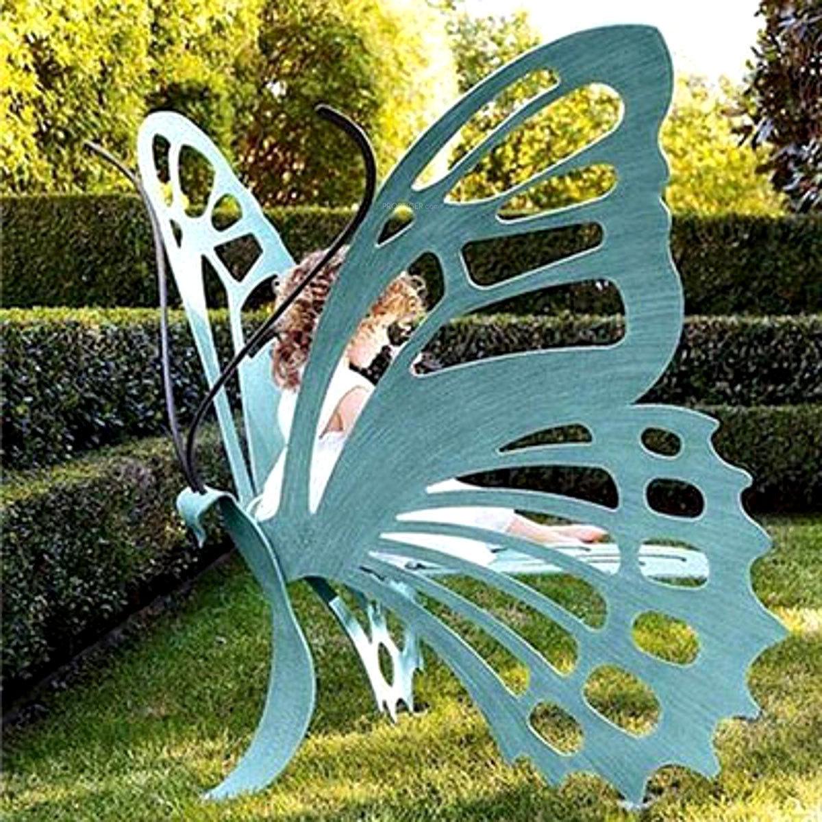 Бабочка на даче своими руками сделать