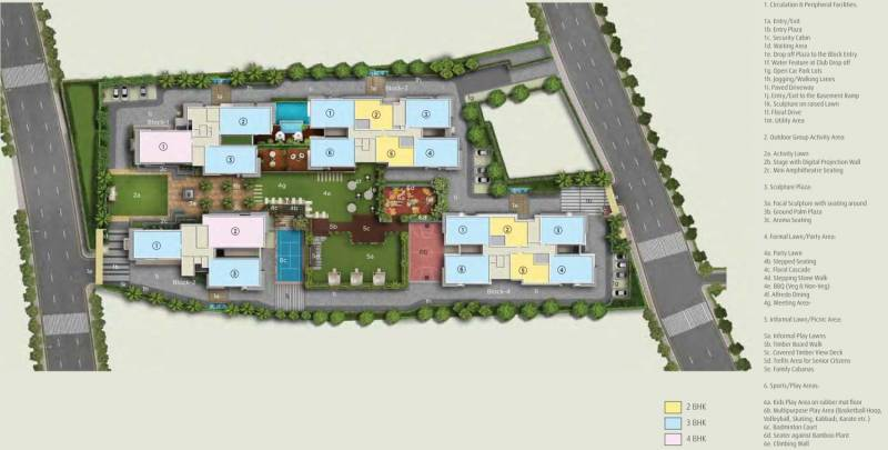 Images for Site Plan of Amit Realty and Shree RSH Group The Ecos