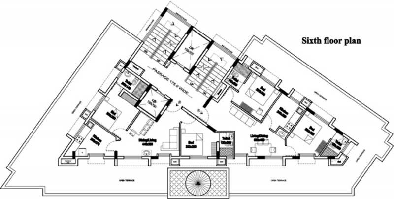 rhazes Rhazes Cluster Plan for 6th Floor