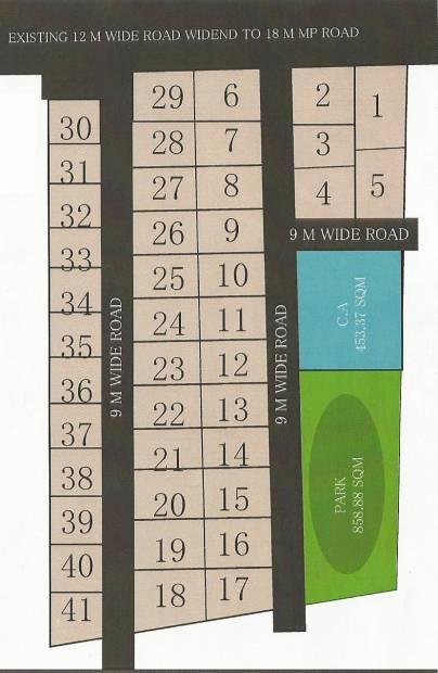 Images for Layout Plan of Enrich Akshaya Meadows