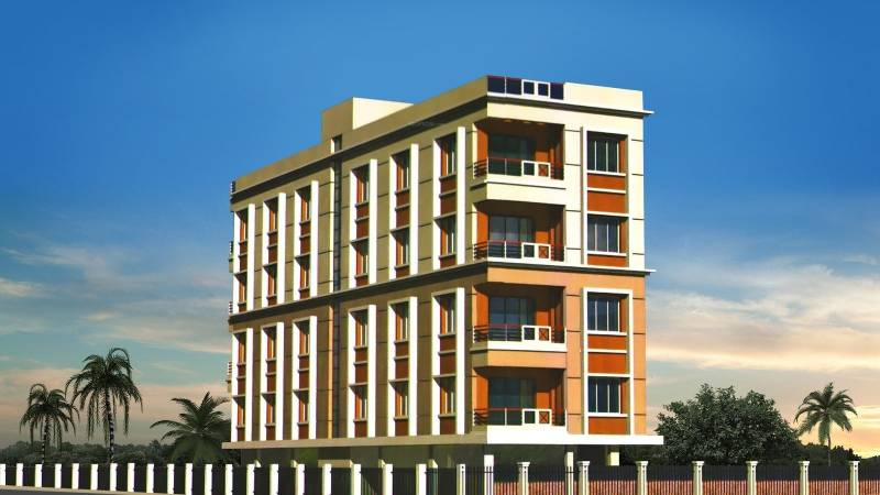 Images for Elevation of Biswas Jeet Sanctuary Block B