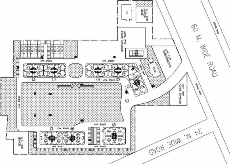 Images for Site Plan of DLF New Town Heights