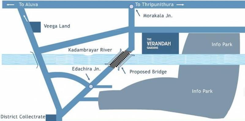 Images for Location Plan of Infra Verandah Gardens