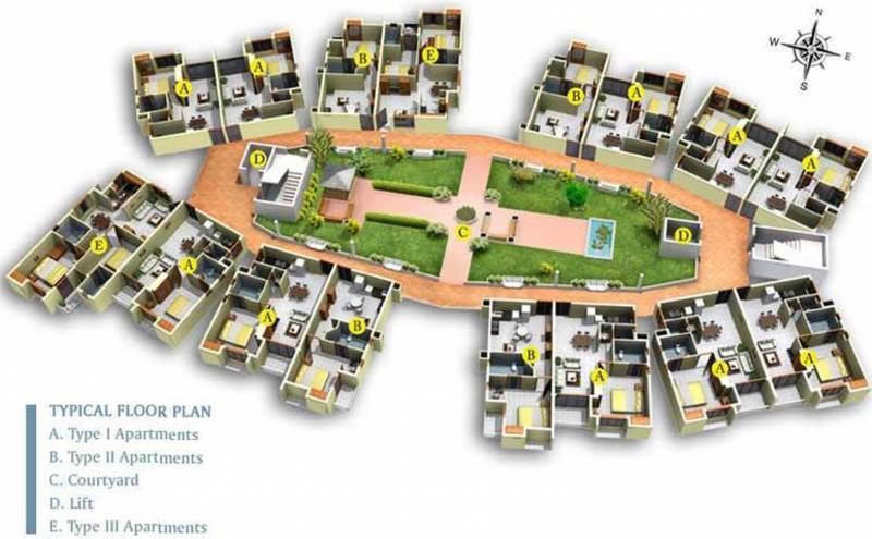 Images for Master Plan of Infra Verandah Gardens