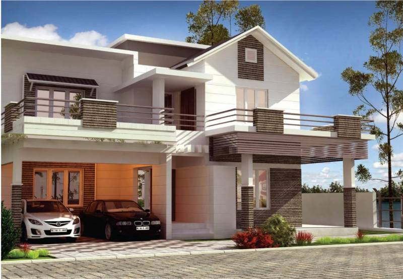 Images for Elevation of Tulsi Blu Rain Water Front